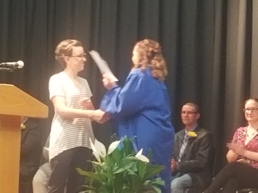 8th grade promotion and awards night.