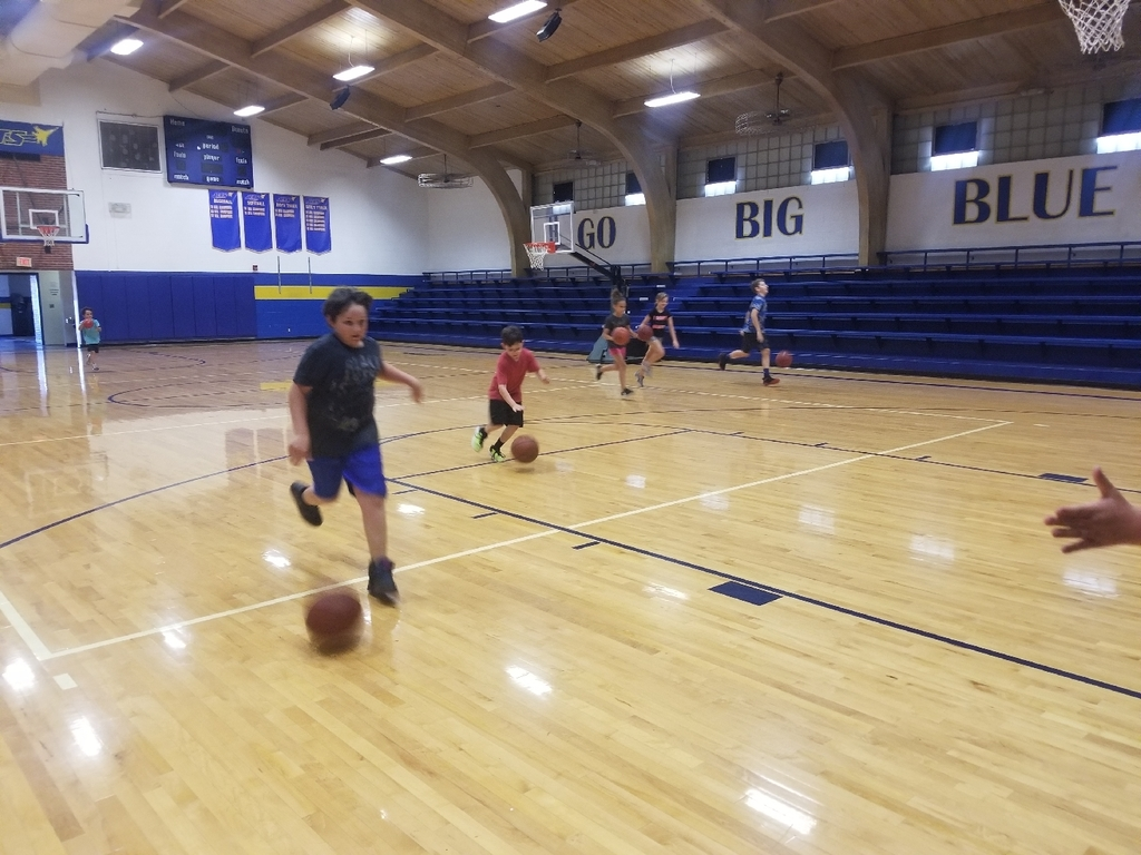 Day 3 of 1-8 Basketball camp.