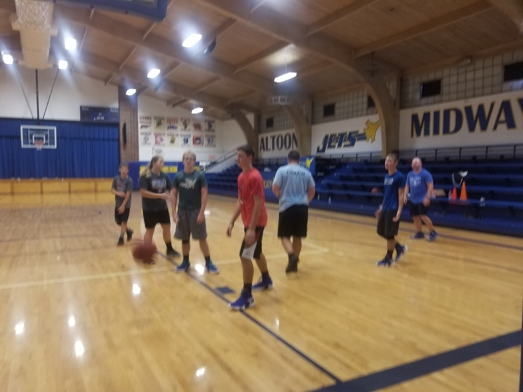 Final Day of HS Basketball  Camp.
