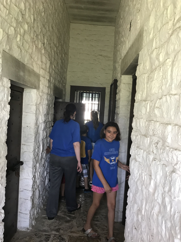 Jail Time at the fort!
