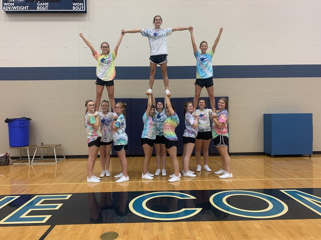 Cheerleaders @ Spirit Spreader, Chanute, KS