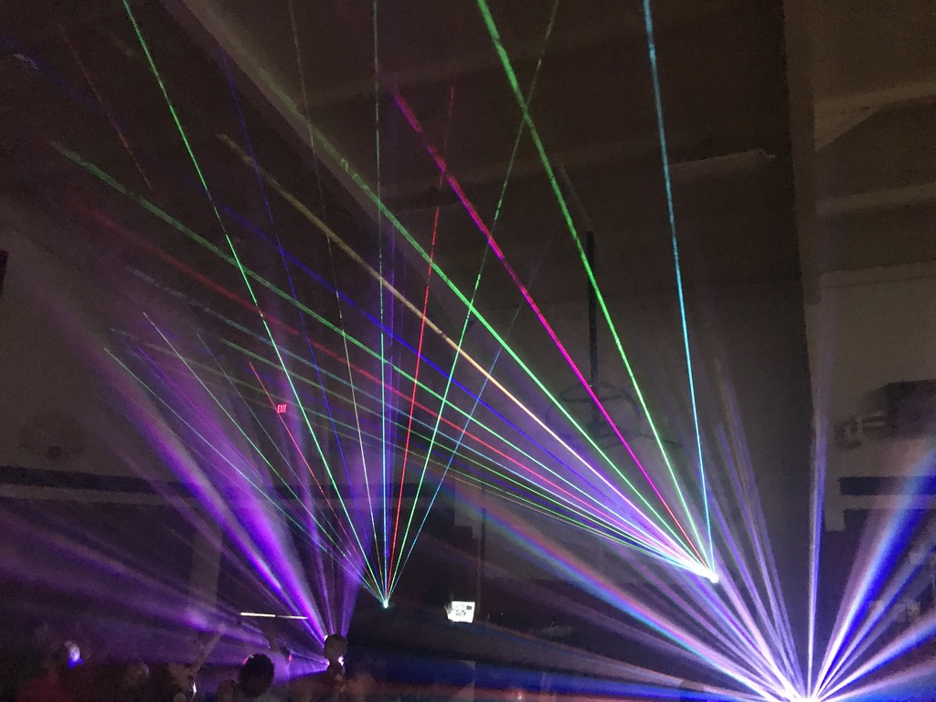 Fredonia Arts Council Laser Light Show