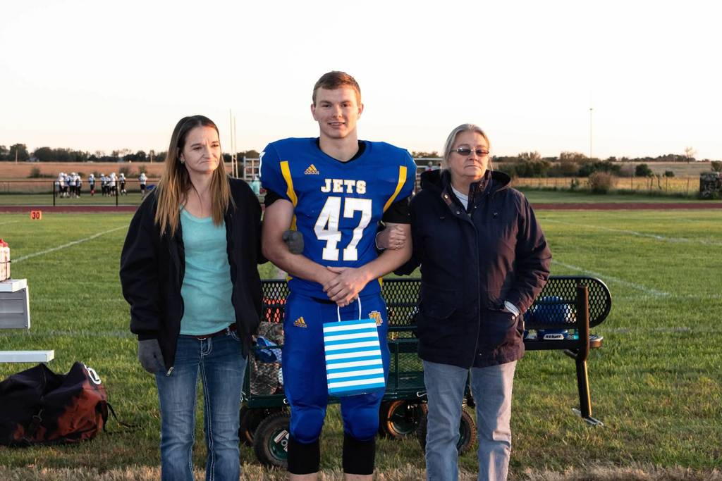 Senior Night Dayton Marsh