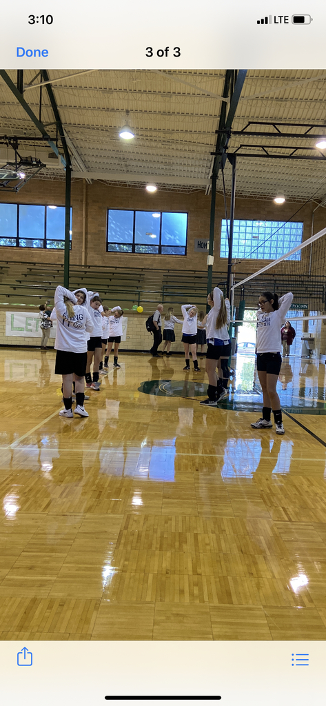 AMMS volleyball at St Pats in Parsons