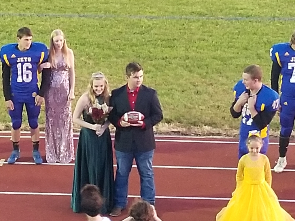 Homecoming Queen Abigale Lockhart & Homecoming King Dawson Ashmore!
