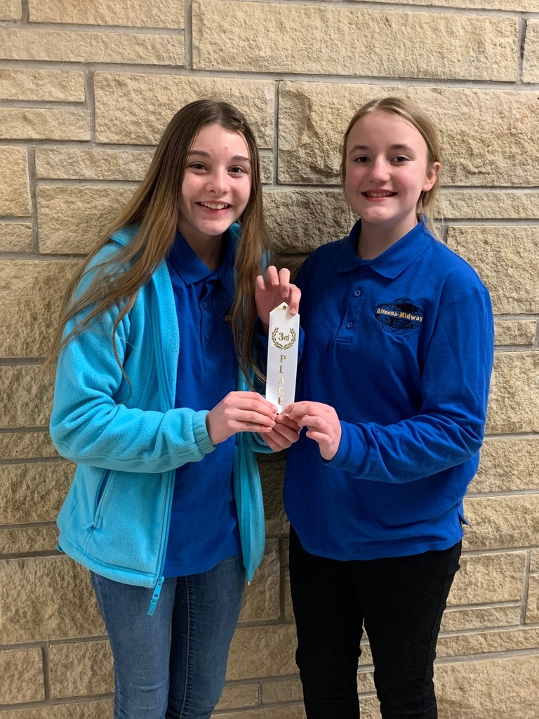 Emmalyn Pupanek and Autumn Raymond - 3rd Place in Write It, Do It