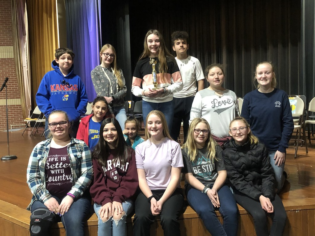 January 2020 Wilson County Spelling Bee Participants