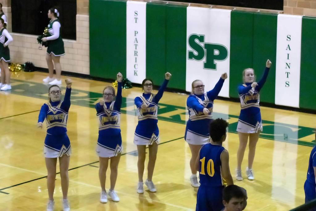 AMMS Cheerleaders @ St. Pats