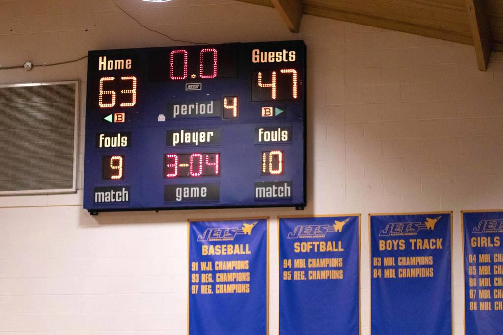 HOMECOMING BOYS VARSITY WIN