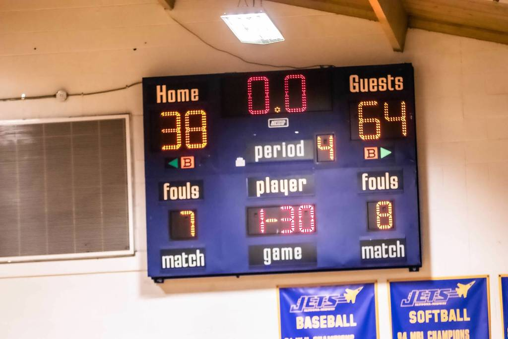 Final Score vs St Paul HS Varsity Boys