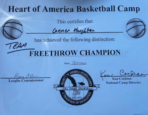 Team Free Throw Champion